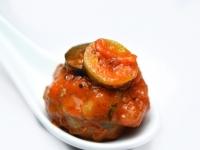 Beef Meatballs in Puttanesca Sauce