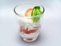 Burrata Cheese in Shooter Glass or Spoon
