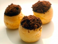 Chocolate Profiterols