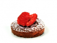 Raspberry Financier