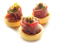 Sliced Veal in Tuna Sauce Capers