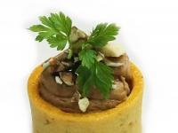 Tartlet of Foie Gras Mousse Pistachio