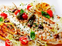 Dover Sole with Taggiasche Olives