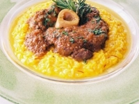 Signature Ossobuco with Saffron Risotto