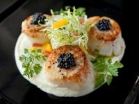 Hokkaido Scallops with Carelian Caviar